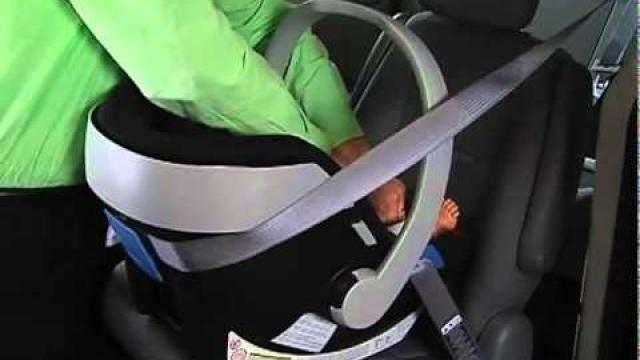 Embedded thumbnail for Видео-инструкция по установке автокресла Cybex Aton Basic от производителя